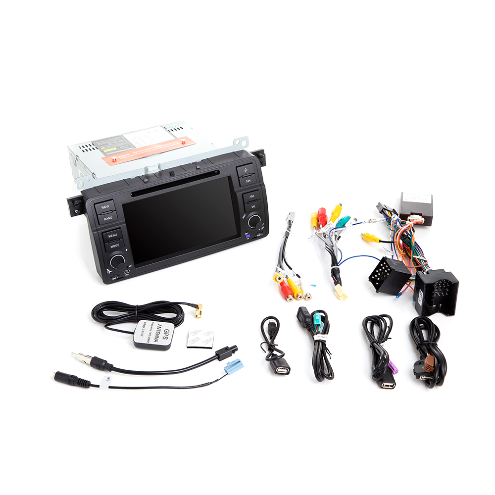 Image 5 - Josmile 1 Din Android 9.0  GPS Navigation For BMW E46 M3 Rover 75 Coupe 318/320/325/330/335 Car Radio Car DVD Player Stereo Wifi-in Car Multimedia Player from Automobiles & Motorcycles