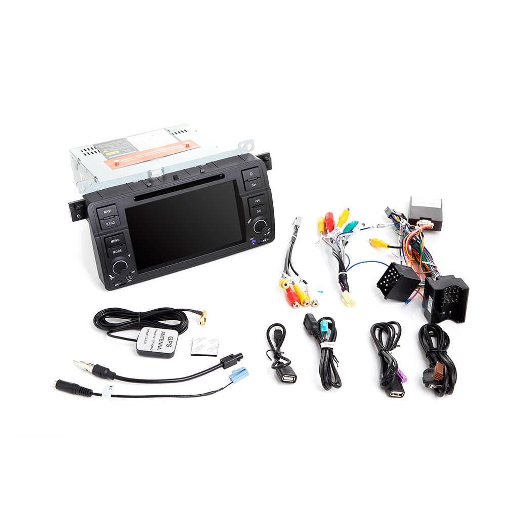 Josmile 1 Din Android 9,0 navegación GPS para BMW E46 M3 Rover 75 Coupe 318/320/325/330/335 Radio de coche reproductor de DVD del coche estéreo Wifi