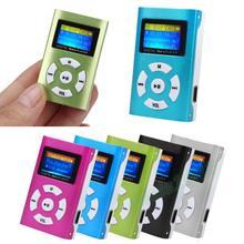AIKEGLOBAL Hifi USB мини MP3 музыкальный плеер ЖК-экран Поддержка 32 ГБ Micro SD TF карта Спортивная Мода стиль Rechargeab