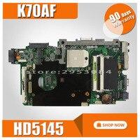 K70AF motherboard REV2.1/2.3 HD5145 512M For ASUS K70 K70AF K70AB K70AD laptop motherboard K70AF mainboard K70AF motherboard