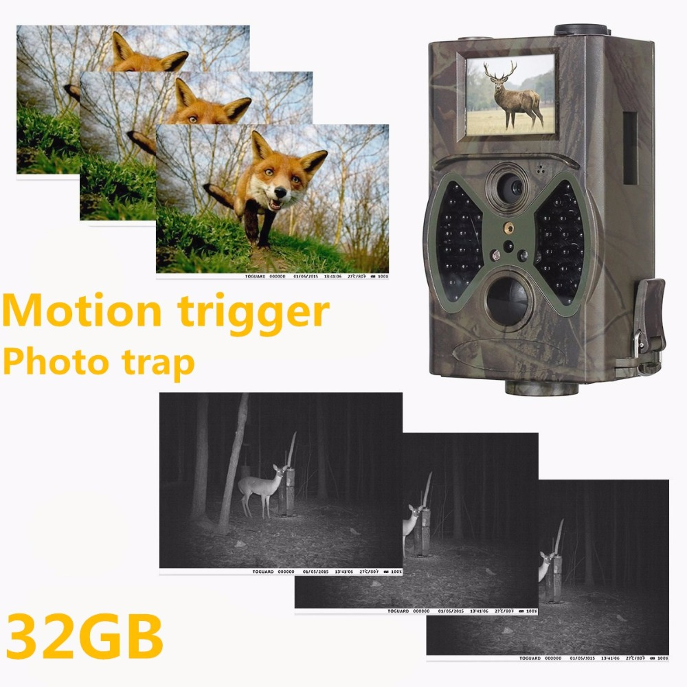 Suntek Photo Traps Deer Hunting Trail Camera 12MP 1080P 940NM Night Vision Hunting Cameras Digital Infrared Cams Traps HC300A
