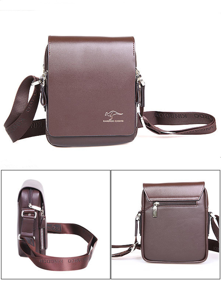 HTB1aURIXLc3T1VjSZPfq6AWHXXau Designer Brand Kangaroo Briefcase Men Soft Leather Shoulder Travel Bag Business office Computer laptop bag Cover Messenger Bags
