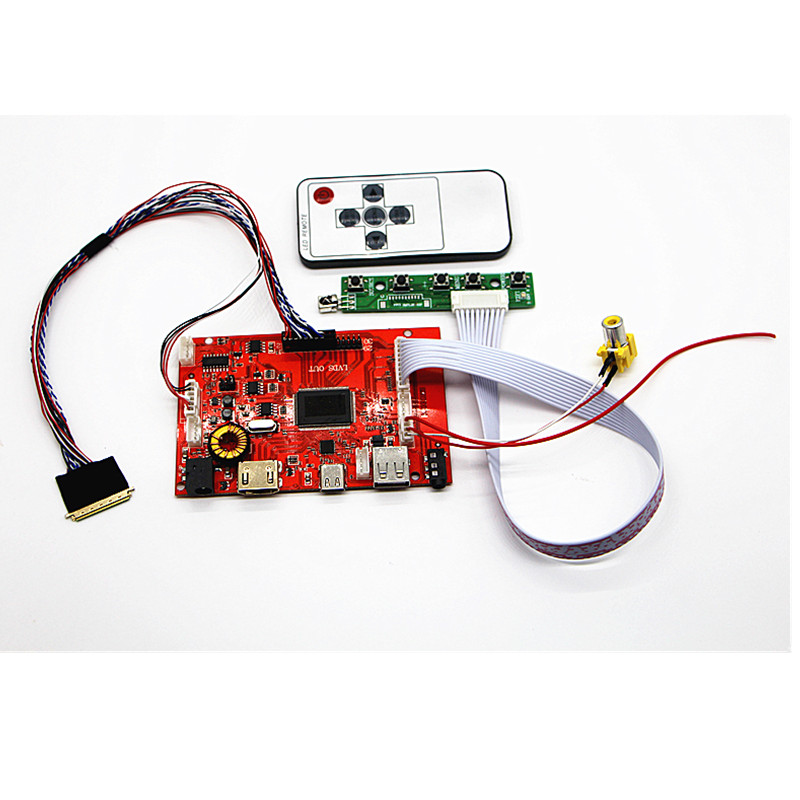 US $29 8  TYPE C+HDMI+USB+AUDIO LCD Controller Board kit 10 1