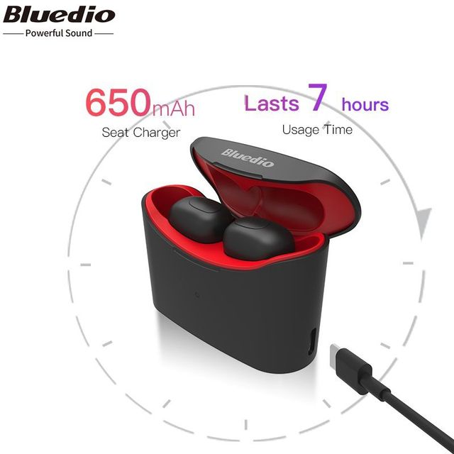 2019 Bluedio Высокое качество Bluetooth наушники портативный оригинальный беспроводной быстрое подключение микрофон
