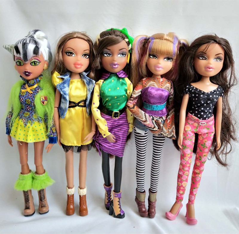 Fashion Action Figure Bratz Bratzillaz Doll Multiple Choice Best Gift for Child 1PC каталог bratz