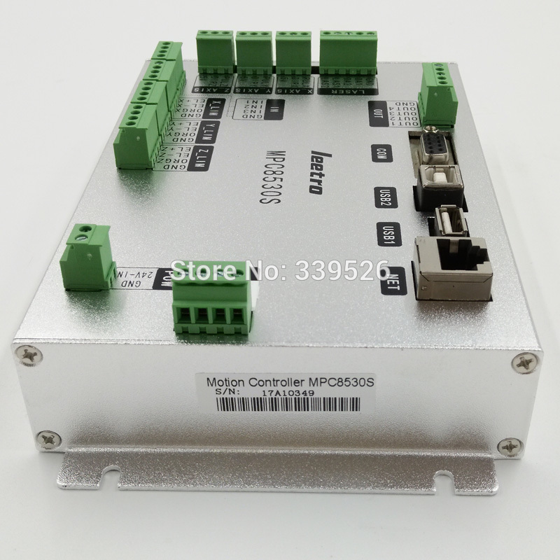 Co2 laser motion controller system laser cut 6.1 Leetro MPC6585 update to MPC8530S mainboard leetro mpc6515 laser controller board for sale mpc6515c controller system