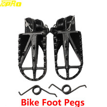 Steel Foot Peg Rest Pedal for Honda XR CRF 70 XR50 CRF50 PW50 80 SSR Dirt Bike curve throttle cable for honda xr50 crf50 xr crf 50 70 bike