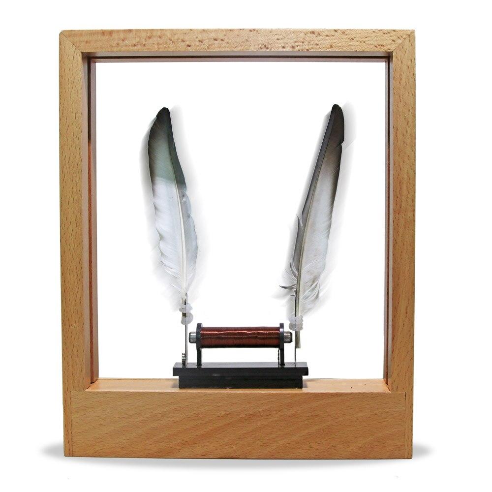 Leve Quadro de Objeto em Movimento Lento LED Optical Illusion Escultura Tempo Retarda Ação Moldura de Mesa Decoração de Casa
