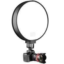 40 см Круглый Универсальный Портативный софтбокс Speedlight с диффузором для вспышки профессиональной верхний софтбокс для Камера