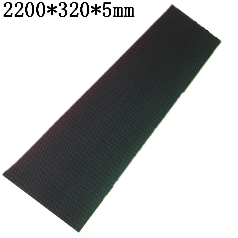2200*320*5mm Surfboard Deck Pad Daimond Line FR EVA Deck Grip 3M Adhesive Sup Deck Pad In Surfing