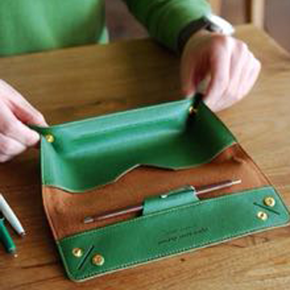 DIY Leather Craft Wallet Tray Design Die Cutting Knife Mould Hand Machine Punch Tool 4pcs/set