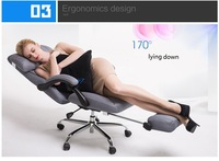 General Manager Boss Chair Lying Down Stool Lounge Chair Gray Black Ect Color Exhibition Folded Chair