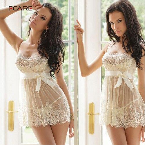 Plus Size S M L XL, XXL, XXXL, XXXXL,5XL,6XL Dress+g String White Erotic Sexy Lingerie Lace Hot