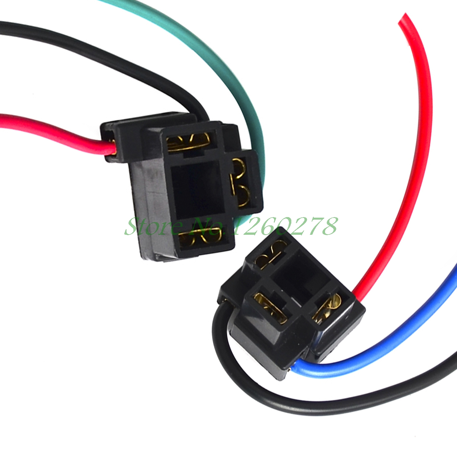 Bulb Socket H4 Wiring Diagram Diagrams Instructions Arb Harness 2pcs Female Adapter Sockets Wire Connector Rh Aliexpress
