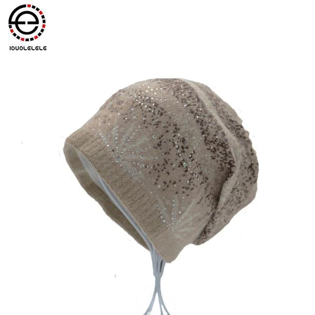 IDUOLELELE Winter Hats for women Hat Very Soft  Girl's skullies& beanies  Female Warm Winter Cap fashion High Quality