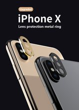 Ultra thin Aluminum Alloy Lens Cover Shutter Magnet Slider lens Camera Cover Phone Lens Privacy Sticker for iPhone XR(China)