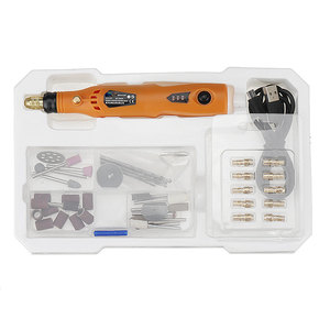 MD3326C USB Charging Rotary Tool Kit 3.6V Cordless Variable Speed Electric Grinder Drill Durable