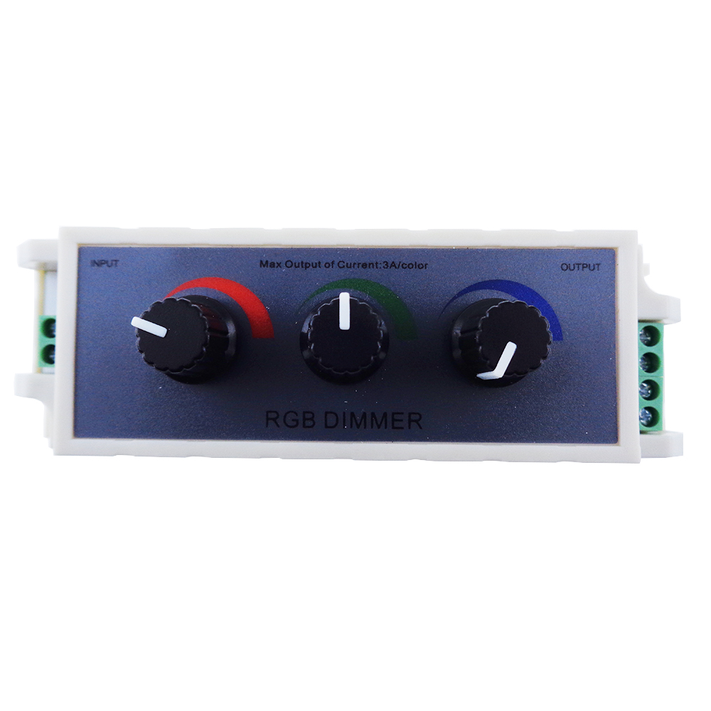 Rgb Dimmer Us 8 46 25 Off Rgb Controller Dc12 24v 3 Keys New 3 Channel Led Strip Dimmer Controller For 3528 5050 Fast Arrival High Quality Ur In Rgb Controlers