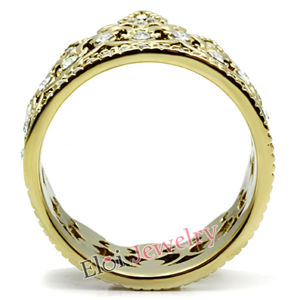 Women/'s Girls Royalty Queen Princess Crown 14k Gold Plated Fashion Ring Sz 5-10
