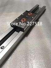 2 шт. двойной оси ролика линейной направляющей SGR10 L1700mm + 4 шт. SGB10UU блок multi основной оси Линейное движение направляющих Auminum руководство