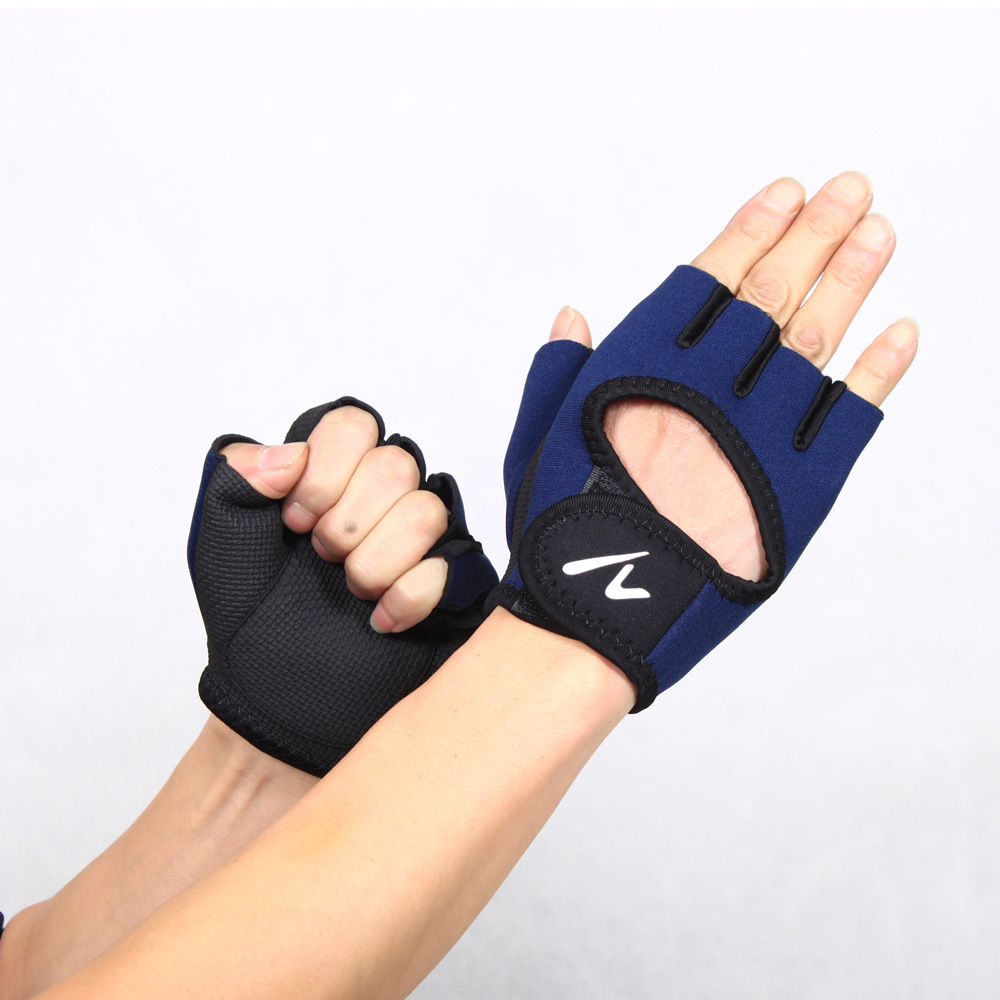 Mens gloves sports direct - Factory Direct Supply Of Brand Sports Supplies Wholesale Custom Men Half Finger Outdoor Riding Fitness Gloves