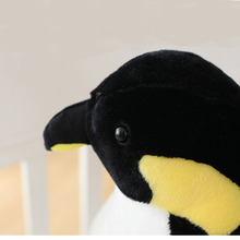 80cm Plush Penguin Toy Simulation Animal Stuffed Soft Toy Cute Simulation Penguin Doll Kids Toy Children Birthday Christmas Gift