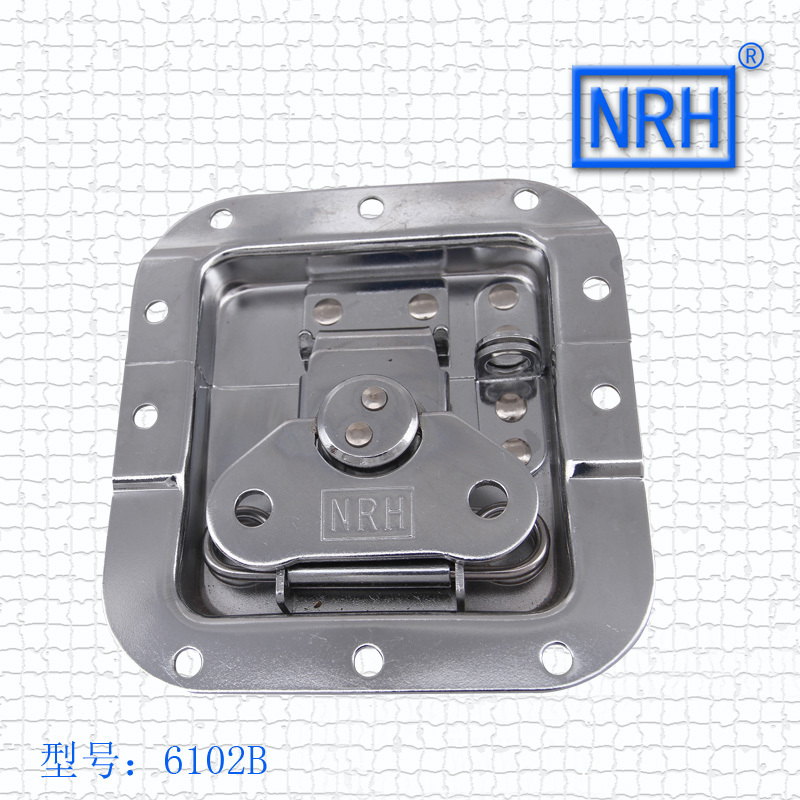 NRH 6102B cold rolled steel DJ cabinet butterfly latch a pair of Seismic Audio recessed butterfly latch for transport case latch tênis masculino lançamento 2019