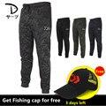 Летние 2018 DaiWa мужские и женские бамбуковые угольные брюки для рыбалки быстросохнущие дышащие камуфляжные леггинсы легкие брюки для рыбаков