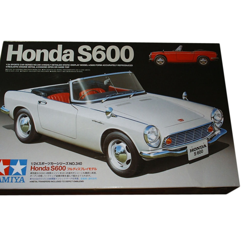OHS Tamiya 24340 1 24 S600 Scale Assembly Car Model Building Kits G