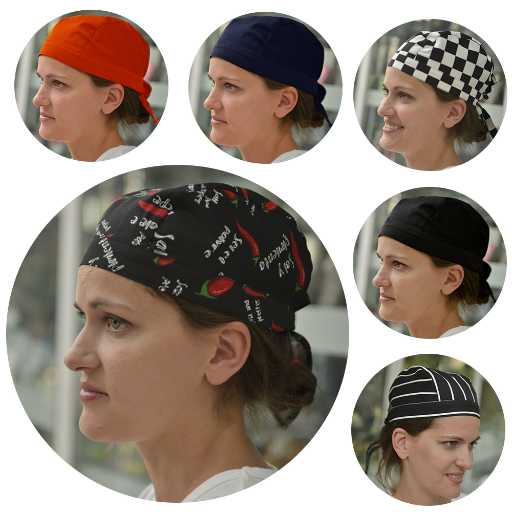 High Quality Wholesale Top Chef Pirate Hat Waiter Hats Hotel Restaurant Canteen Bakery Kitchen Work Wear Master Cook Forward Cap