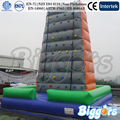 Inflatable Biggors Коммерческая Надувные Стена Для Скалолазания для Спортивных Игр, Доставка по Морю