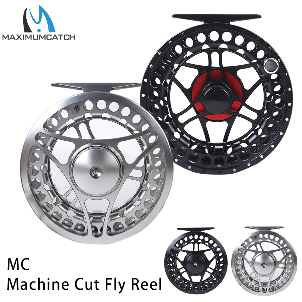 Maximumcatch 2-11WT Fly Fishing Reel CNC Machine Cut Large Arbor Aluminum Fly Reel maximumcatch 06n 2 3 4 5 6 7 8wt fly fishing reel cnc machine cut large arbor aluminum silver color fly reel page 8