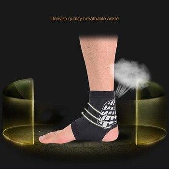 Nowy Styl Oddychająca Wygodne Kostki Pad Chroń Zwichnięcie Brace Ochrona Outdoor Sportswear Bezpieczeństwa Gra W Piłkę Do Biegania Części