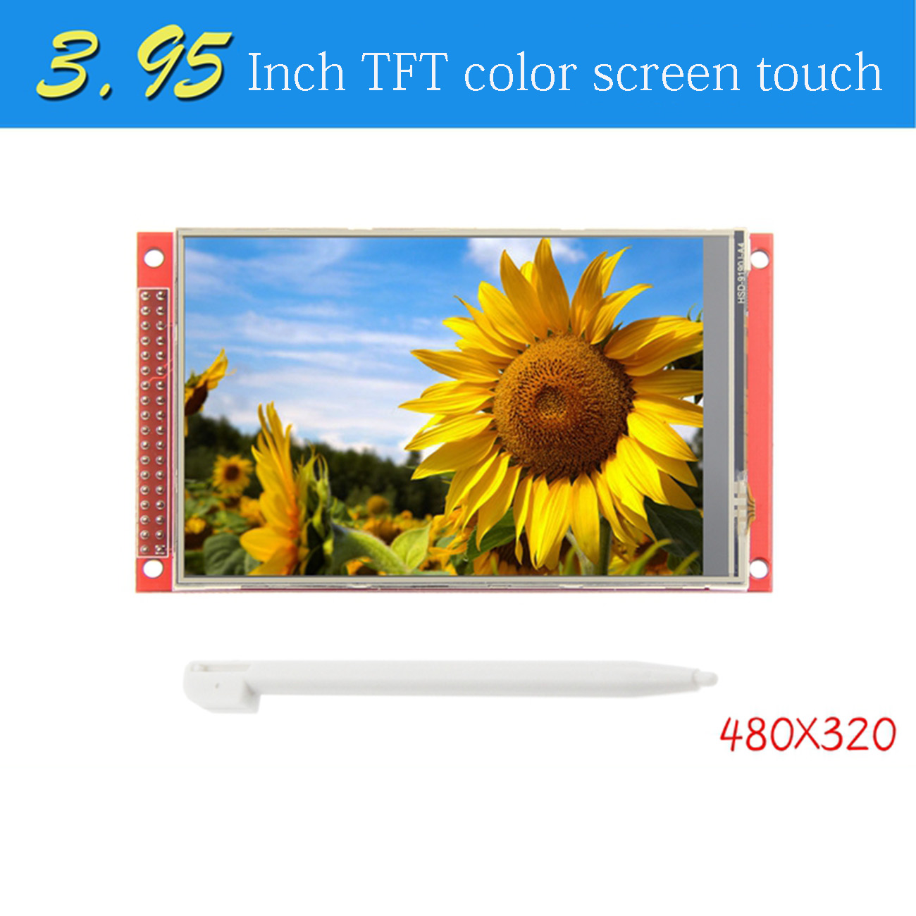 "3.95 inch""/4.0 inch"" inch 320*480 ST7796S TFT Color LCD Display Module Screen with Touch Panel For Arduino UNO Mega2560 8/16 Bit"