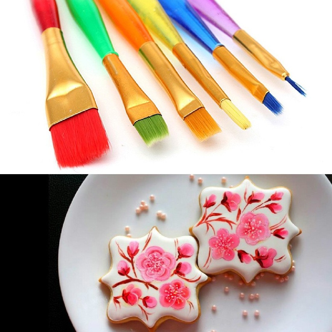 5pcs 15.5cm Tip Paint for DIY Clay Sculpture Shaping Carving Art Student Tools