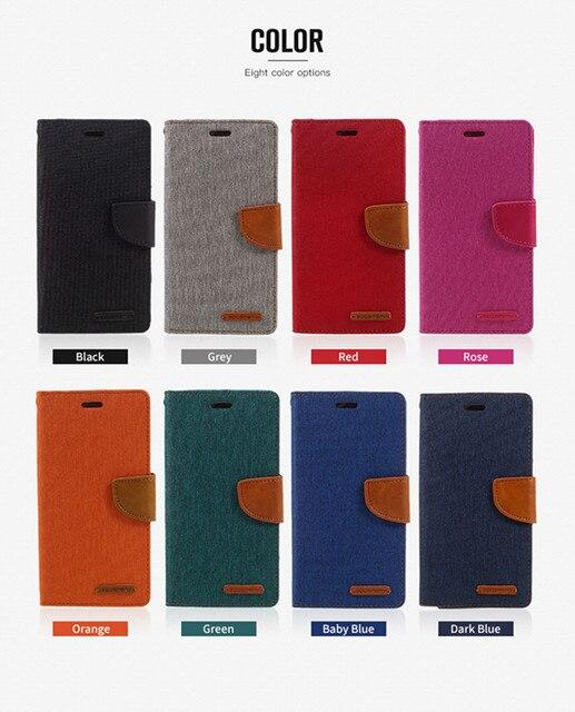 Funda tipo billetera de cuero con tarjetero para Iphone 6 7 8 plus x XS Max samsung S8 S9 S9 más S10 S10e