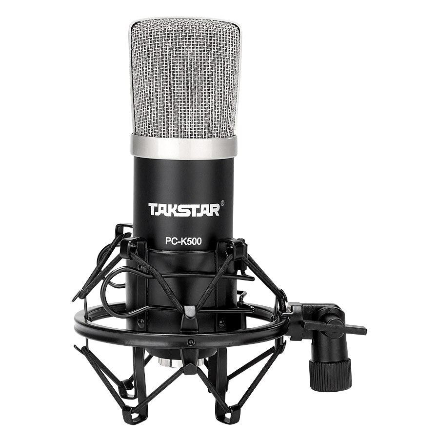 Takstar pc k500 professional condenser microphone computer microphone recording microphone karaoke MIC