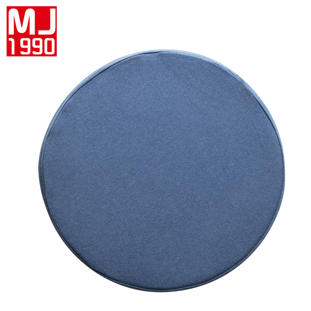 News Round 100% Knitted Cotton Solid Color Slow Rebound Memory Latex Seat Cushion Circular Chair  sc 1 st  AliExpress.com & News Round 100% Knitted Cotton Solid Color Slow Rebound Memory Latex ...