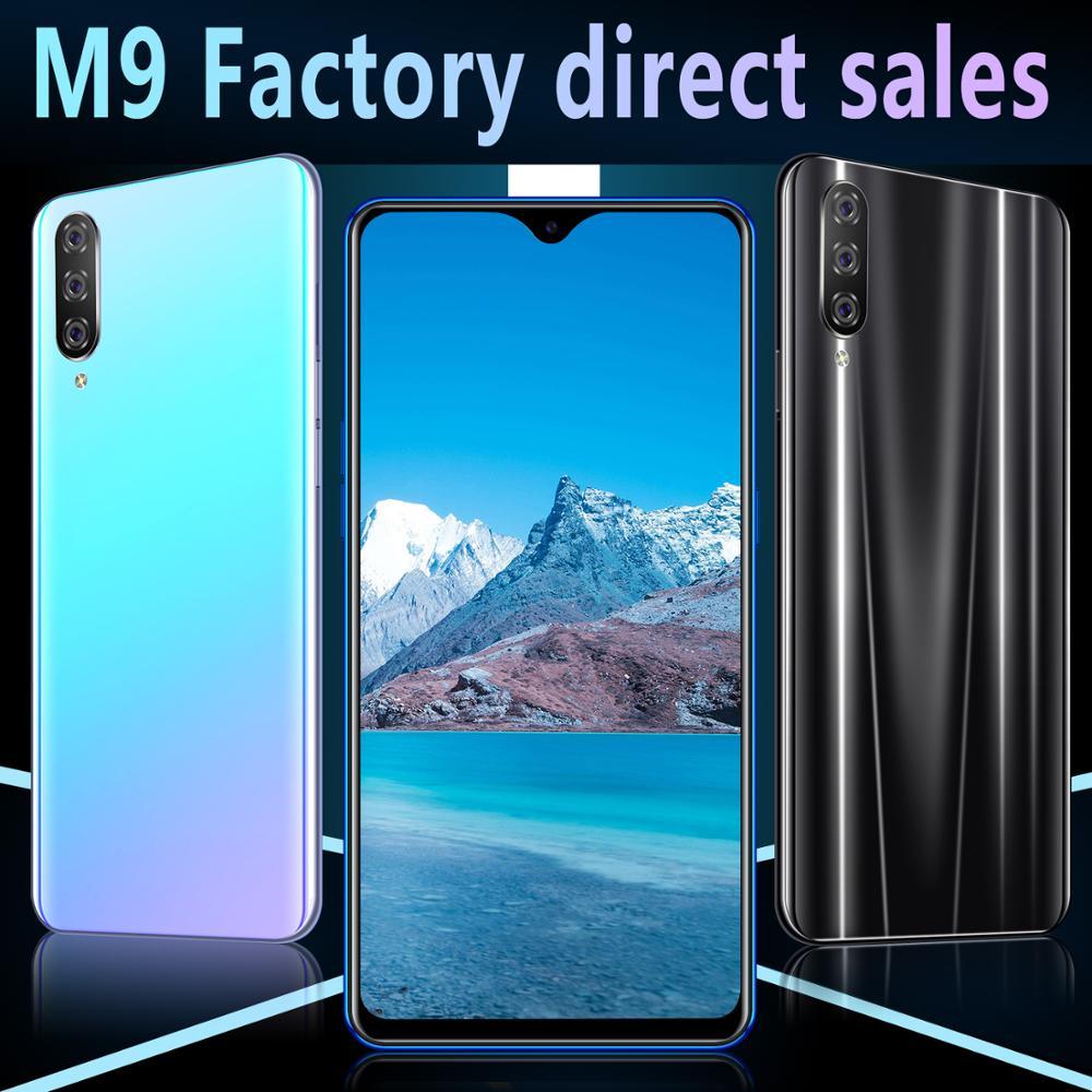 CHAOAI M9 Smartphone 6 GB 128 GB Version mondiale téléphone portable intelligent 6.3 pouces écran de goutte d'eau double Sim 3G Mobile