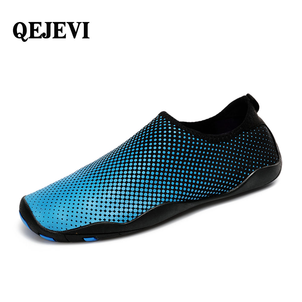 Free Shipping QEJEVI 2018 HOT SELL Water sport sneakers Beach Wading shoes surfing Walking fishing Quick Drying Aqua Upstream