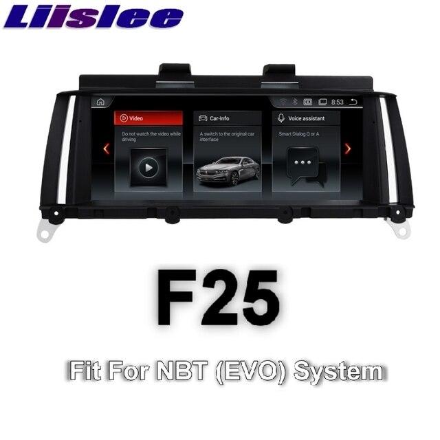 For BMW X3 F25 2014~2017 LiisLee Car Multimedia GPS Audio