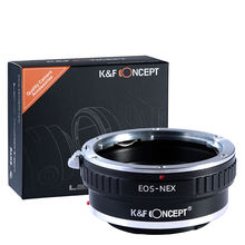 K & F קונספט מתאם עבור Canon EOS EF הר לסוני NEX 7 6 5R 5T A5000 A5100 a6000 A6300 A6400 A6500 A7 A7II A7R A73 A9