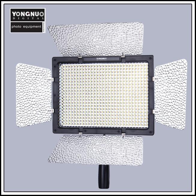 цена на Yongnuo YN-600 YN600 Bi-Color LED Video Light 3200k-5500k Color Temperature Adjustable for Camera Photo Studio