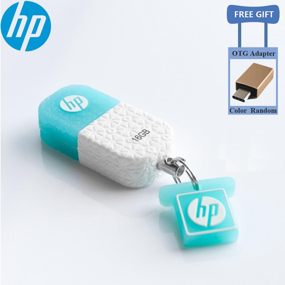 HP USB Flash Drives V175W 8 GB GB GB 64 32 16 GB Memoria usb stick USB à prova de poeira à prova d' água 2.0 cle usb flash drive Pen drive