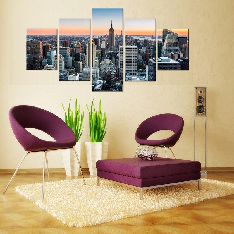 HD decoración del hogar pintura de arte fresco sala de estar - Decoración del hogar - foto 2