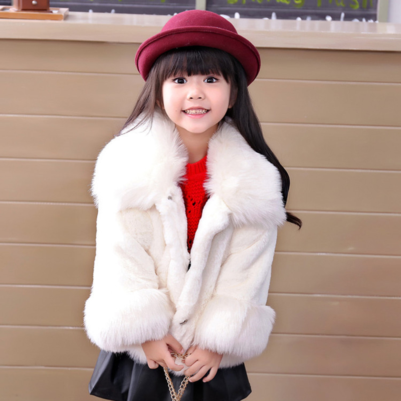 JKP Korean version of the girls fur 2018 autumn and winter new casual children's thick Faux Fur children's coat jacket FPC-123 girls coat autumn and winter thickening children s fur 2018 new korean version of the girl warm jacket children coats fpc 169