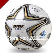High quality Match use Star football Soccer indoor outdoor use Standard 5# soccer ball Gift:pump gas pin net bag
