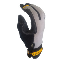 Extra Durable Puncture Resistance Non-slip And ANSI Cut Level 3 with Kevlar Work Glove(Medium,Grey)
