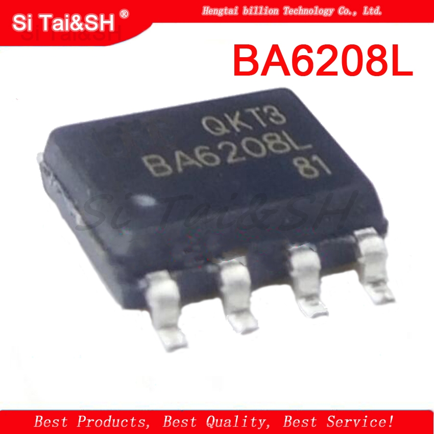 10pcs BA6208L SOP-8 <font><b>BA6208</b></font> SOP8 BA6208L-S08-R SOP Motor Motor Driver IC image