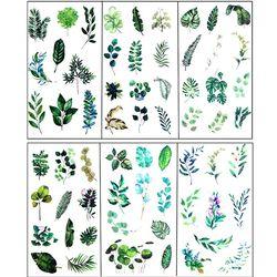 6 adet Yapraklar Reçine Etiket Epoksi Reçine Kalıp Çerçeve Dolgu Malzeme Takı Yapımı